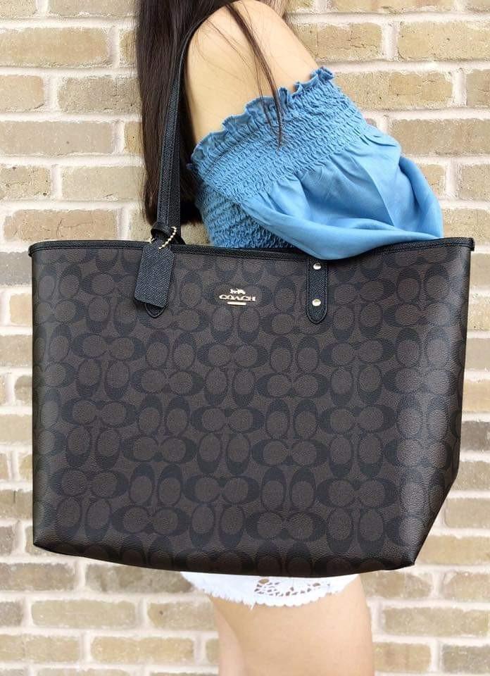 91d221ce5e76 Sale! coach reversible tote bag