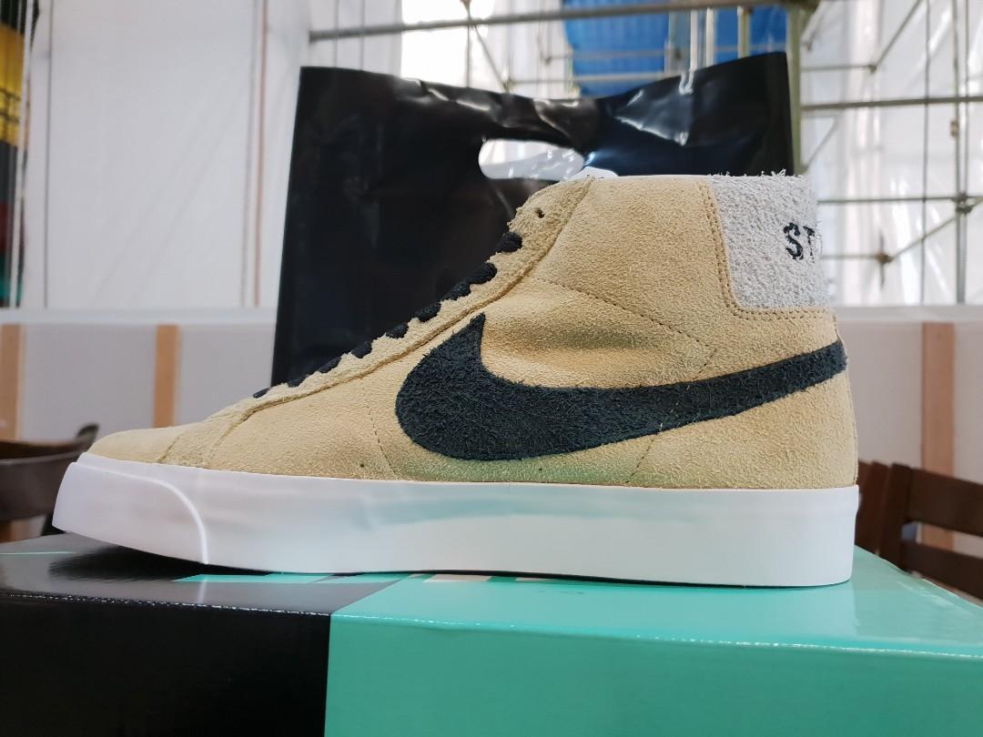 new concept e8718 c4036 STUSSY X NIKE SB BLAZER, Men's Fashion, Footwear, Sneakers ...
