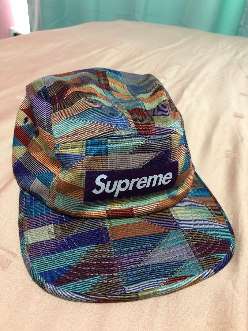 Supreme multicolor fabric Camp Cap 549eb34689f7