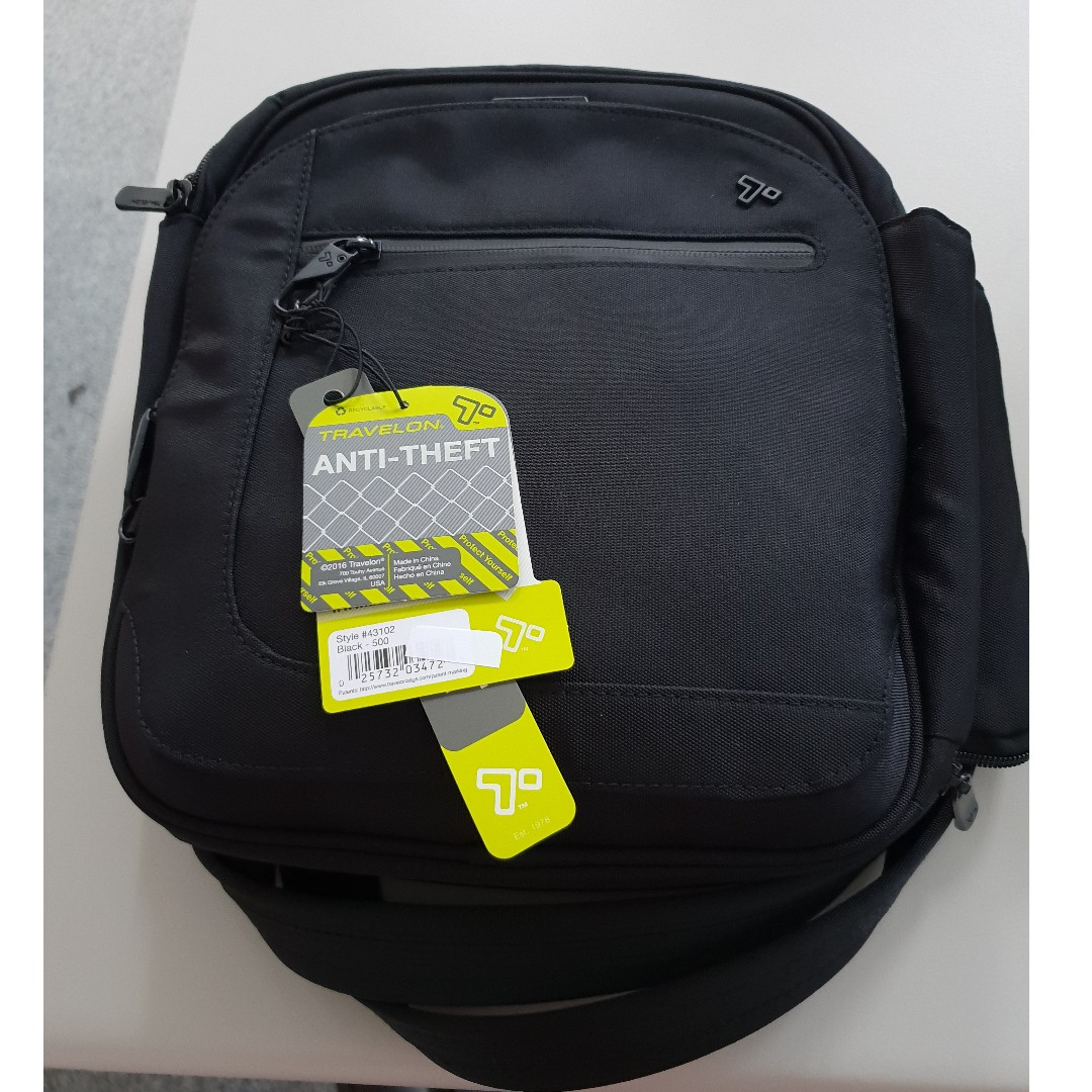ee5efed37d Travelon AntiTheft Urban Tour Bag 43102
