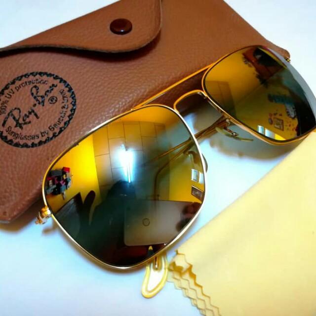 8022a418ce505 Vintage Rayban BL Caravan Arista Gold