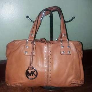 Original Michael Kors mk astor court leather bag
