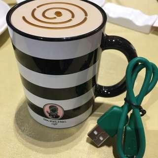 充電器3350mAh行動電源dazzling cafe