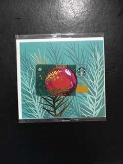 🚚 Starbucks Card - Christmas 2018 (zero value)