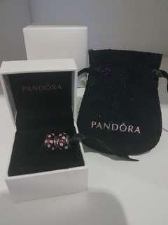 Brand New Authentic Pandora 2 pcs Sweetheart Murano with small box / pouch