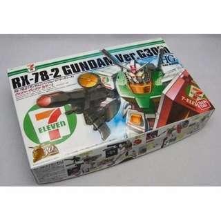請看推廣優 7-11 日本限定特別版 全新未砌 Bandai HG 1/144 RX-78-2 G30th Version RX78 Gundam 711 高達模型 4