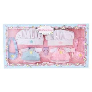 預購)twin stars 給洋娃娃公仔換衫的廚師衫仔(不連公仔)