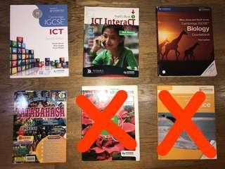 (WTS) Textbooks at LOWER PRICE