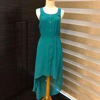 Brand New Forever 21 Teal Long Dress (Brand New) (Fashion Wanita) (Atasan Wanita)