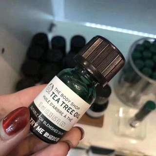 Bodyshop tea tree oil 10ml