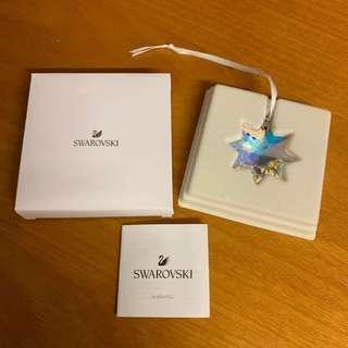 Swarovski 星形水晶吊飾