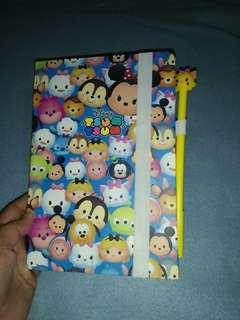 Tsum tsum Hardbound notebook with Free Gel pen