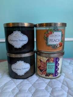 Bath and body works candle 蠟燭
