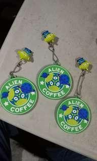 Disney Toy story alien. Alien coffee Cup mat