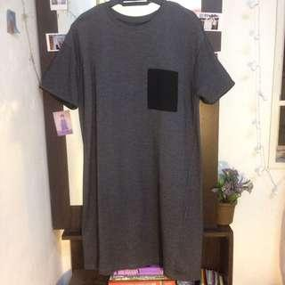 Ladies short dress (Grey)