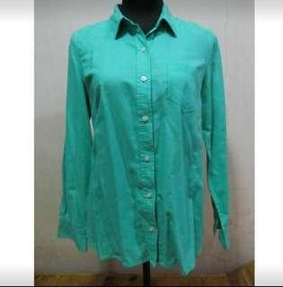 Green Longsleeves Polo