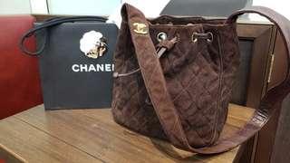 SALE: Chanel brown vintage bag