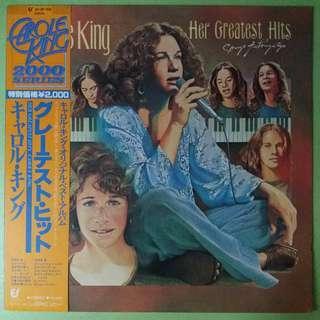 """【舊版""""Rock""""黑膠唱片】Carole King ~ Her Greatest Hits - Songs Of Long Ago (Japan)"""