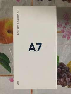 Brand new Samsung Galaxy A7 2018 (Black)
