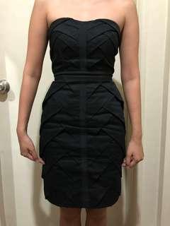 Warehouse Tailored Tube Dress