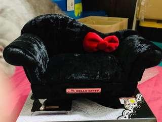 Hello Kitty ☃️梳化型 首飾盒 黑色 全新🇯🇵日本直送空運景品🇯🇵