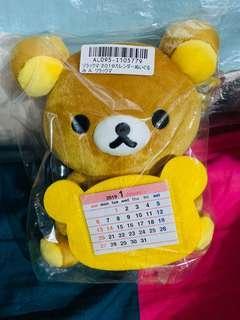 ☃️🈹🈹Rilakkuma 鬆弛熊 公仔 月曆 全新 🇯🇵日本直送空運景品🇯🇵