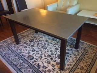 Modern High-End Mixed Materials Dining Table