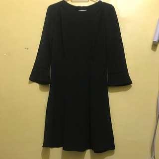H&m black formal dress