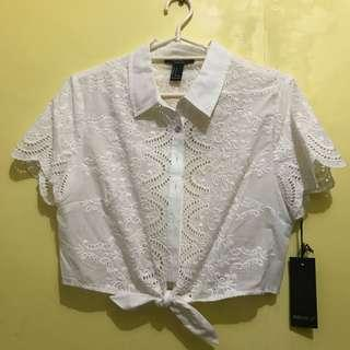 Bnew f21 woven blouse