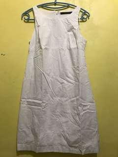 Zara trf white dress
