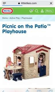 Little Tikes Playhouse with table and chairs