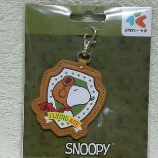 售台灣 Snoopy皮革一卡通