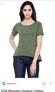 COTTON ON green olive tee