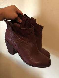 Sam Edelman Brown Booties
