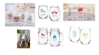 Personalized Glass for Souvenir in Any Event