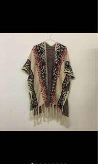 🚚 雲南購入 藏族圖騰編織罩衫