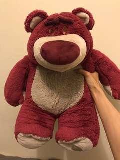 🚚 香港迪士尼 大隻熊抱哥/草莓熊
