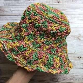 🚚 尼泊爾 純手工編織草帽