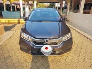 Honda city 1.5 auto E spec