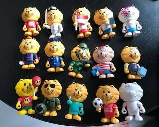 *Limited Edition* Singa Lion Collectibles Full Set