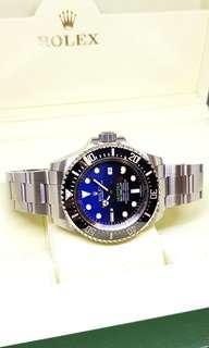 "Rolex Oyster Perpetual Date Sea Dweller ""DEEPSEA"" Blue"