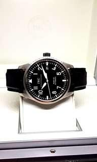 IWC Mark XVI Black Flieger Timepiece