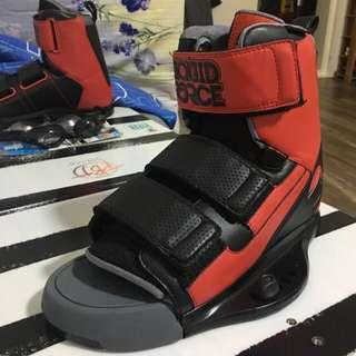 US 8-12 Liquid Force Domain wakeboard Bindings only