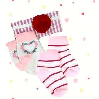 Kaos kaki bayi + bandana