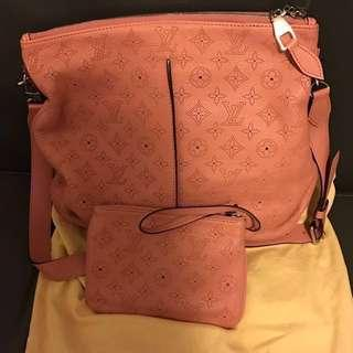 Authentic LV Selena暗粉紅手袋🈹️$6888