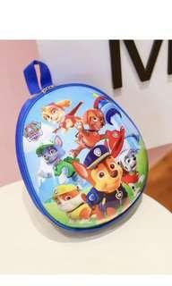 PO kids paw patrol eggshell design bag brand new