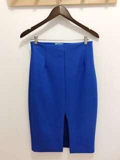 KOOKAI Blue Midi Skirt