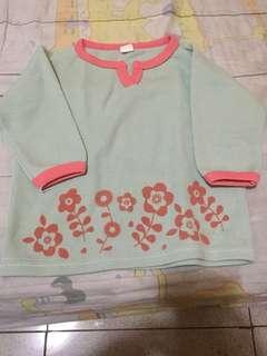 Baby girl longsleeves_12 to 18mos