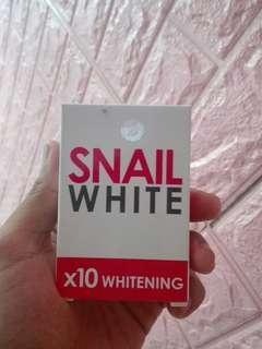 SnailWhite Whitening Soap