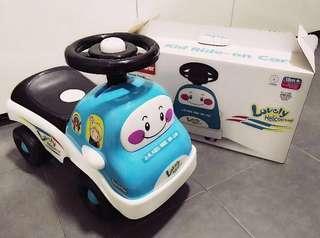 BNIB Ride-on Blue Car